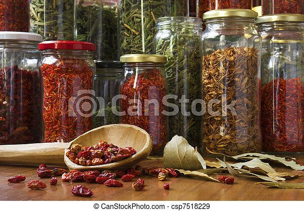 Spicy still life - csp7518229