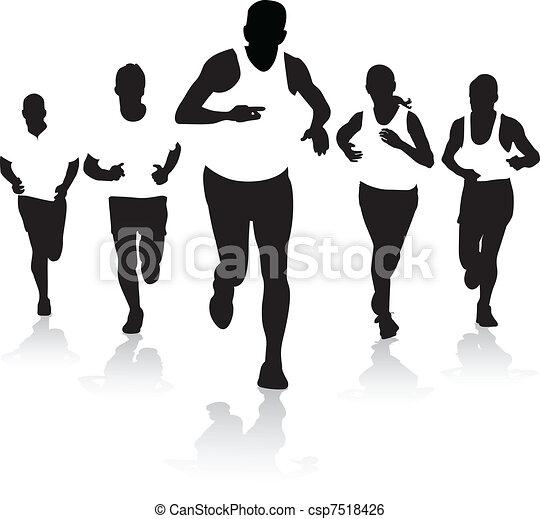 front runners - csp7518426