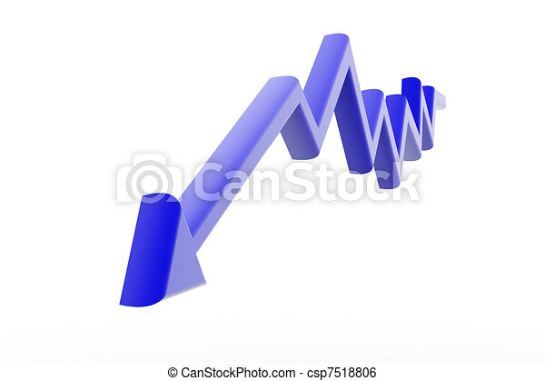 Decreasing arrow - csp7518806