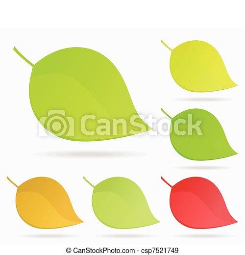 Leaf icon2 - csp7521749