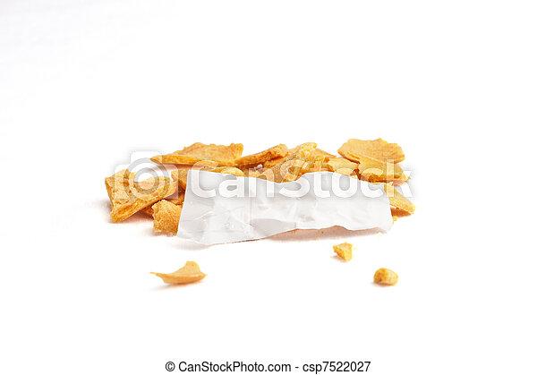 Fortune Smashed Slip Crinkled - csp7522027
