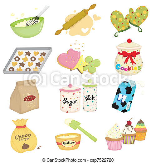 Baking icons - csp7522720