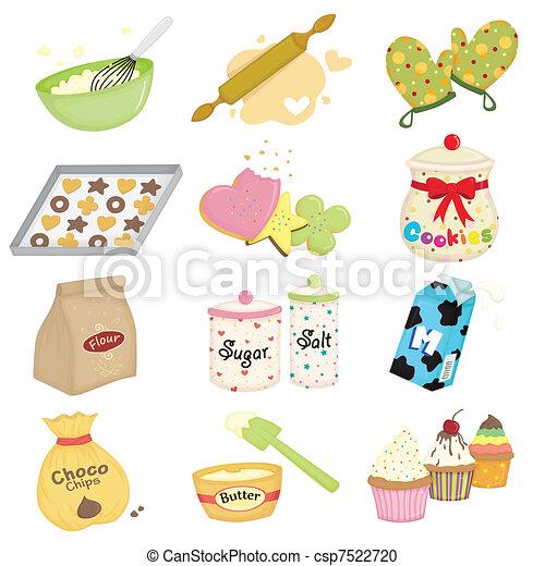 Baking icons - csp7522720