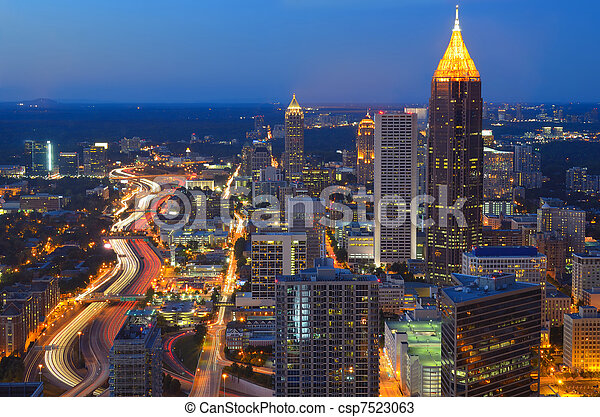 Atlanta Georgia - csp7523063