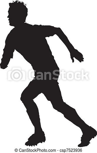 A man running - csp7523936