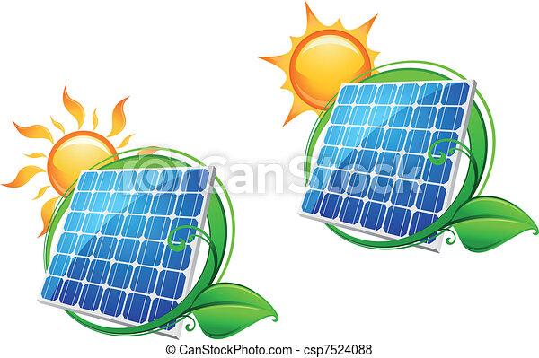 Solar energy panel - csp7524088