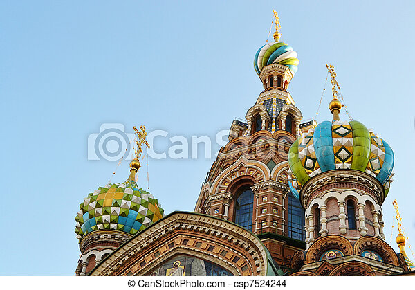 Church of the Savior on Blood - csp7524244