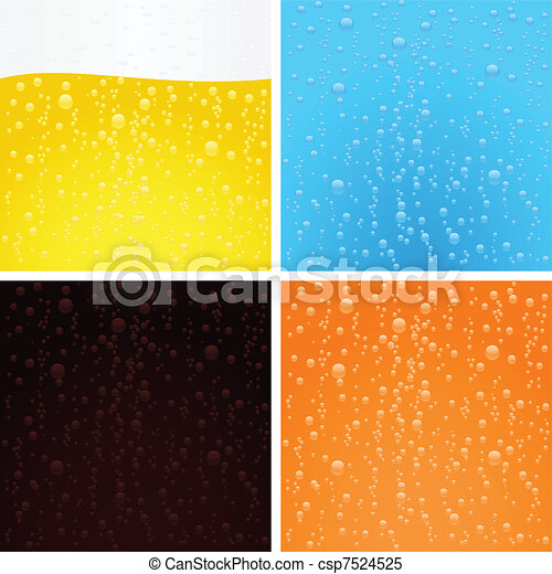 Drinks backgrounds collection - csp7524525