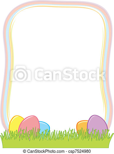 Free Clip Art Easter Borders