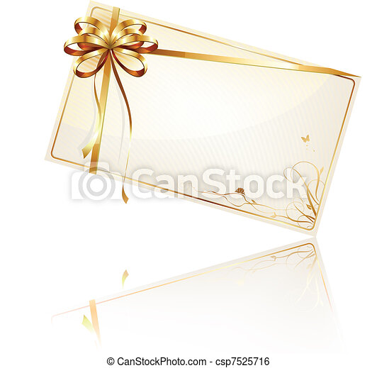 decorated gift card - csp7525716