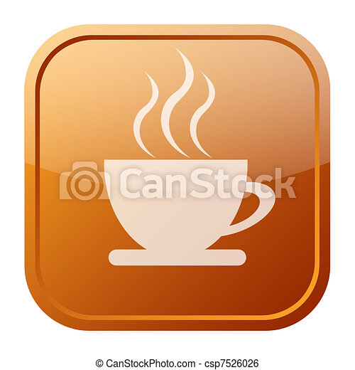 Coffee icon - csp7526026