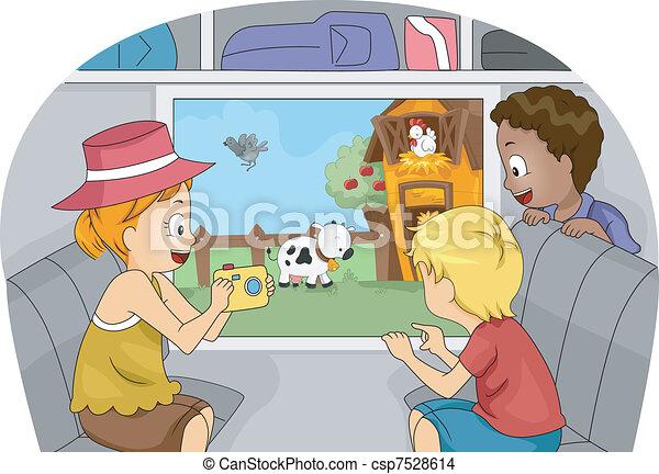 Farm Trip - csp7528614