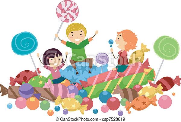 Candy Kids - csp7528619