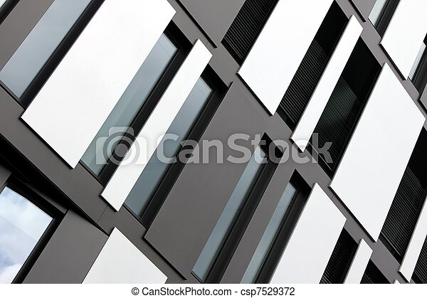 modern window fassade - csp7529372