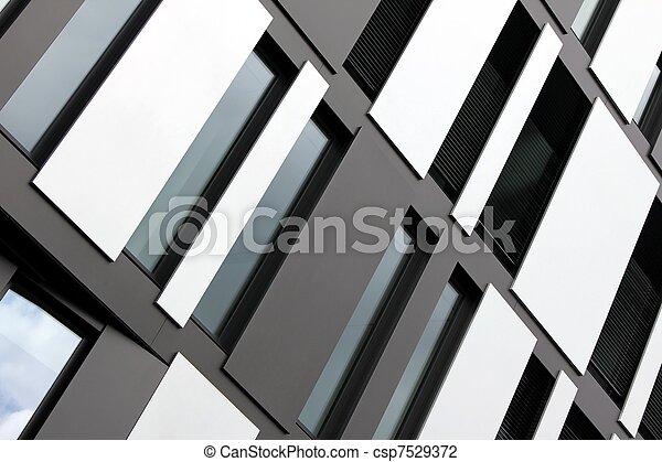 modern window fassade - csp7529372