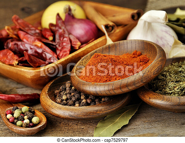 Spices Assortment - csp7529797