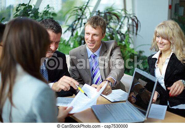 Workgroup interacting in a natural work environment - csp7530000