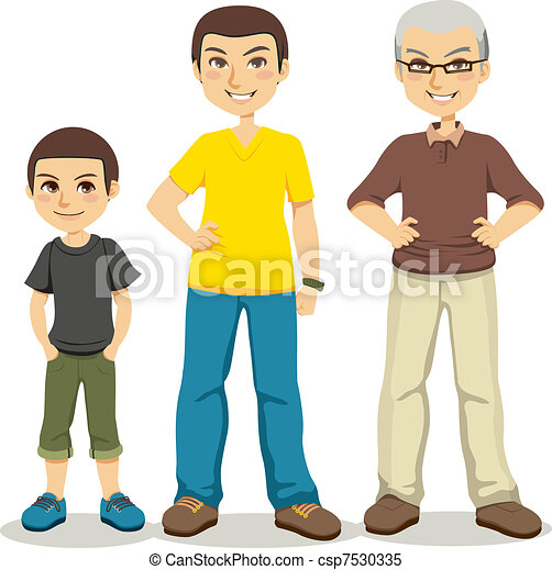 Age of Men - csp7530335