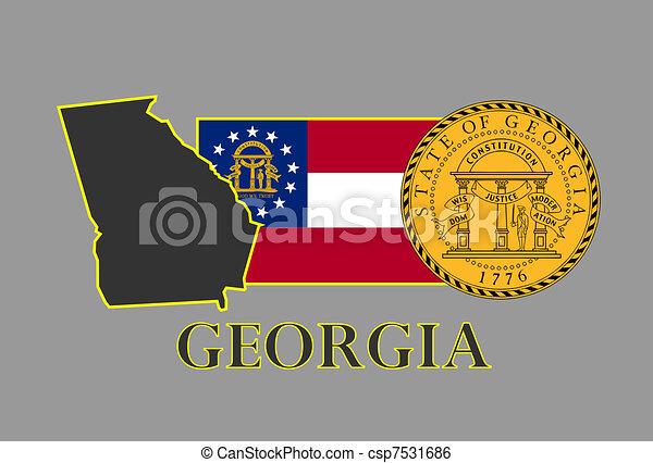 Georgia - csp7531686