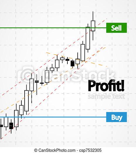 Vector stocks background - csp7532305