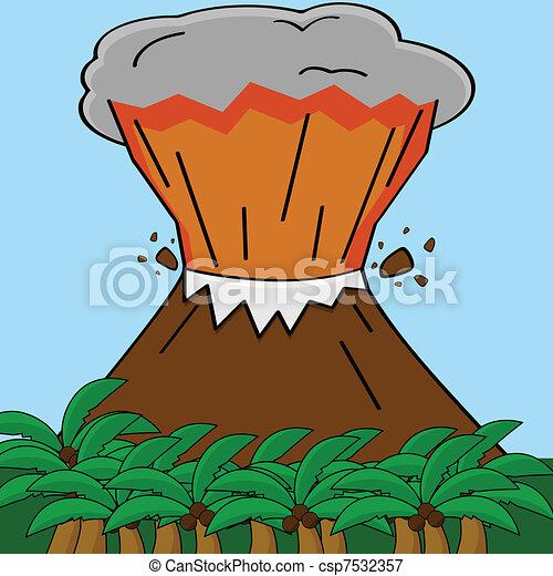 Volcano - csp7532357
