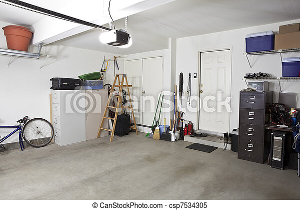 Clean Garage - csp7534305