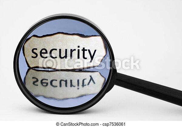 sicurezza - csp7536061