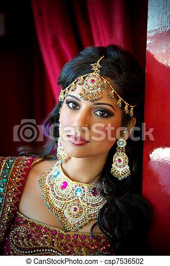 Beautiful Indian Bride - csp7536502