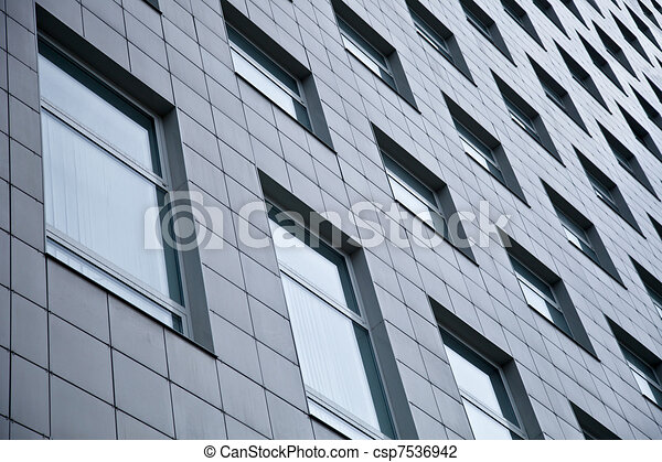 Exterior Of Office Building - csp7536942