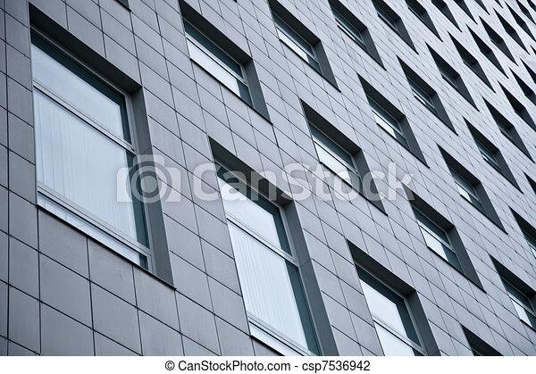 Exterior Of Office Building - csp7536942