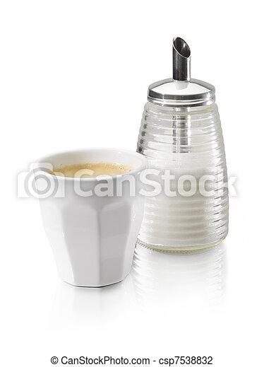 coffe cup sugar - csp7538832