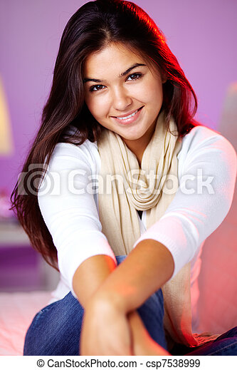 Charming teenager  - csp7538999