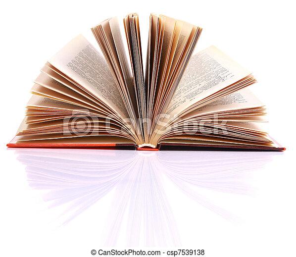 open book - csp7539138