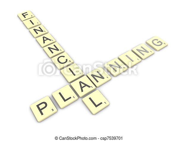 Financial planning - csp7539701