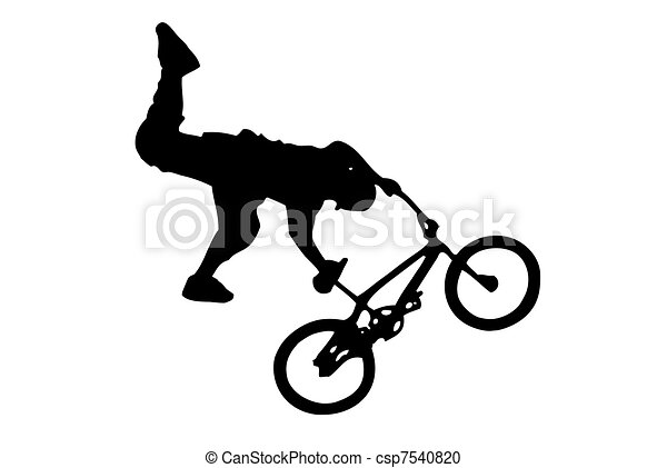 stock illustration of bmx csp7540820 search clipart