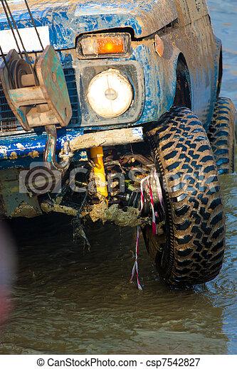 Off roading thrill - csp7542827