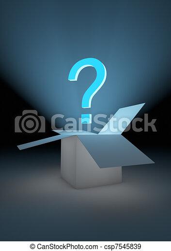 Mystery box - csp7545839