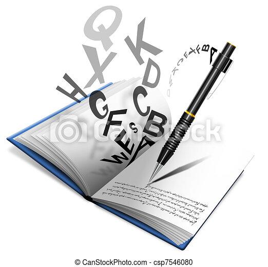 Notebook Pencil Clip Art : 手紙 ダウンロード : すべての講義