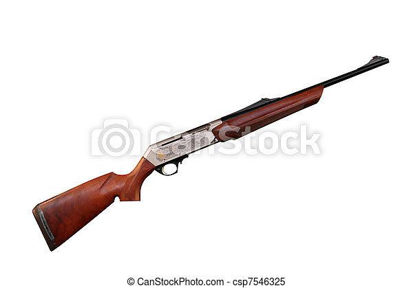 new hunting rifle - csp7546325