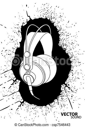 Vector headphones - csp7546443