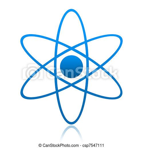 Atom Symbol - csp7547111