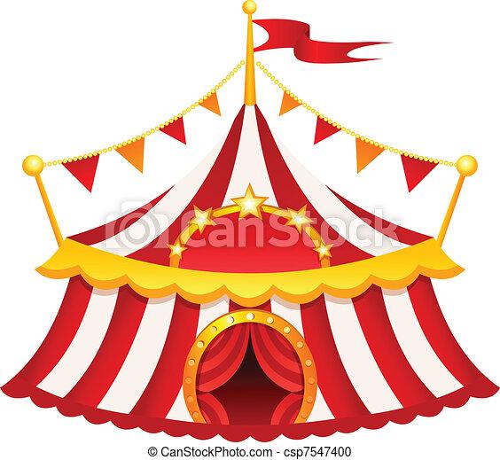 Circus tent - csp7547400