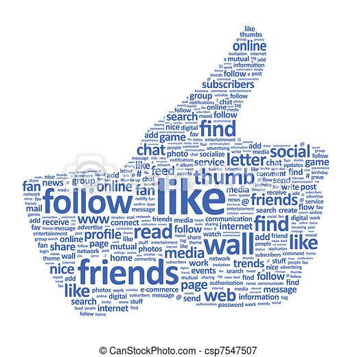 Thumbs Up Sign - csp7547507