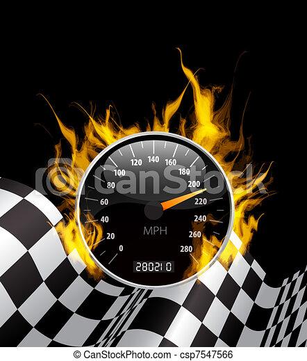 Racing Background - csp7547566