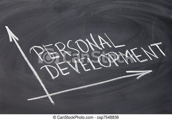 personal development - csp7548836