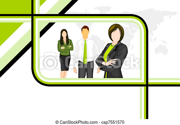 Business People - csp7551570