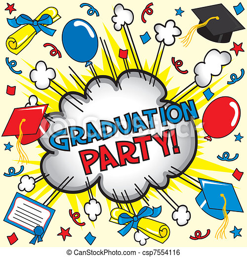 Graduation Party Card - csp7554116