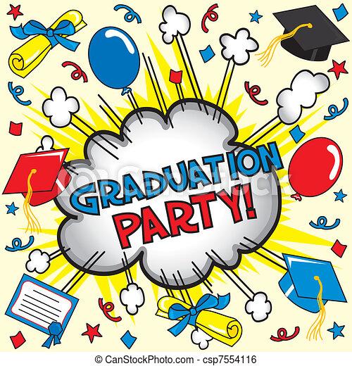 Graduation Party Card - csp7554116