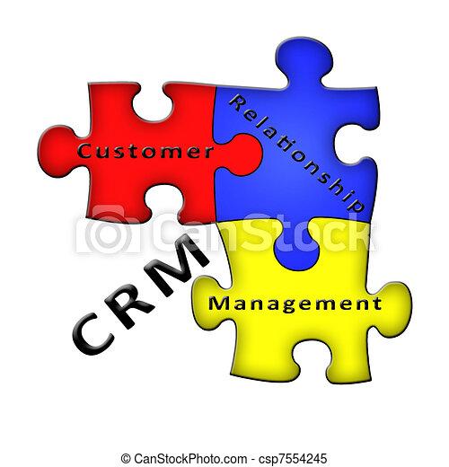 Customer Relationship Management  - csp7554245