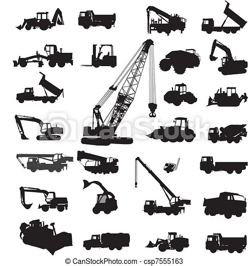 Vectors Of Building And Constructing Equipment Large Set
